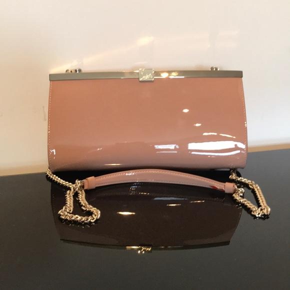 Christian Louboutin Handbags - CHRISTIAN LOUBOUTIN PALMETE PATENT CLUCH BAG